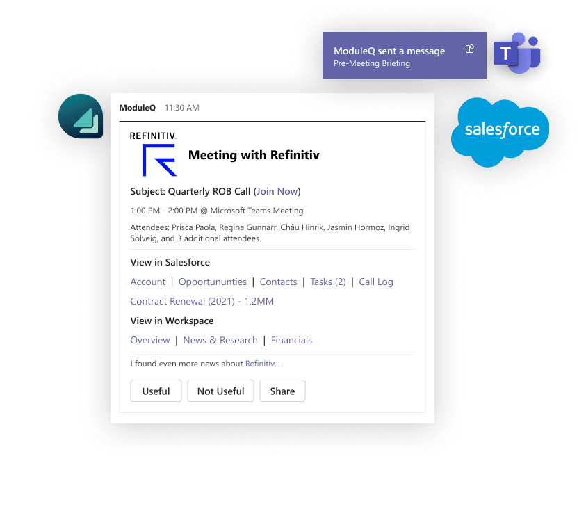 Meeting Brief with Salesforce